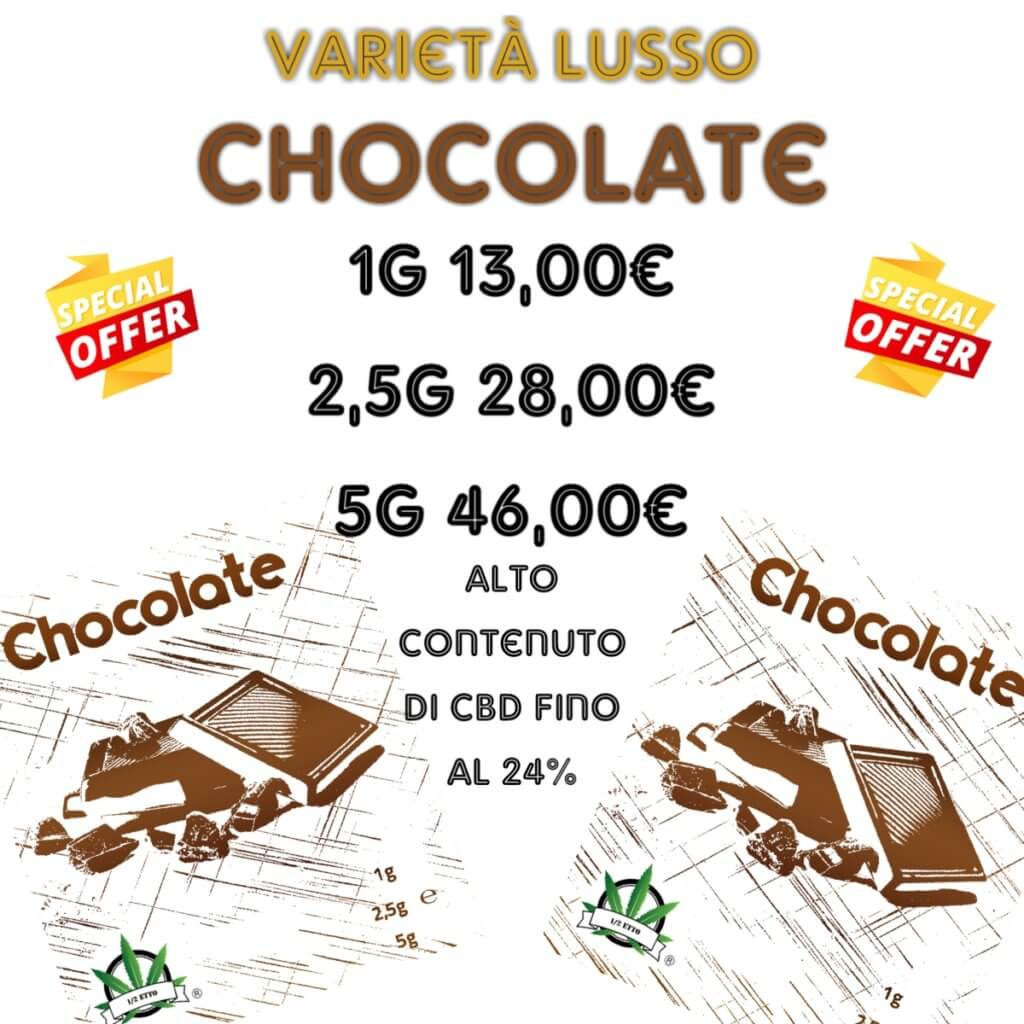 chocolate montesacro mezzetto
